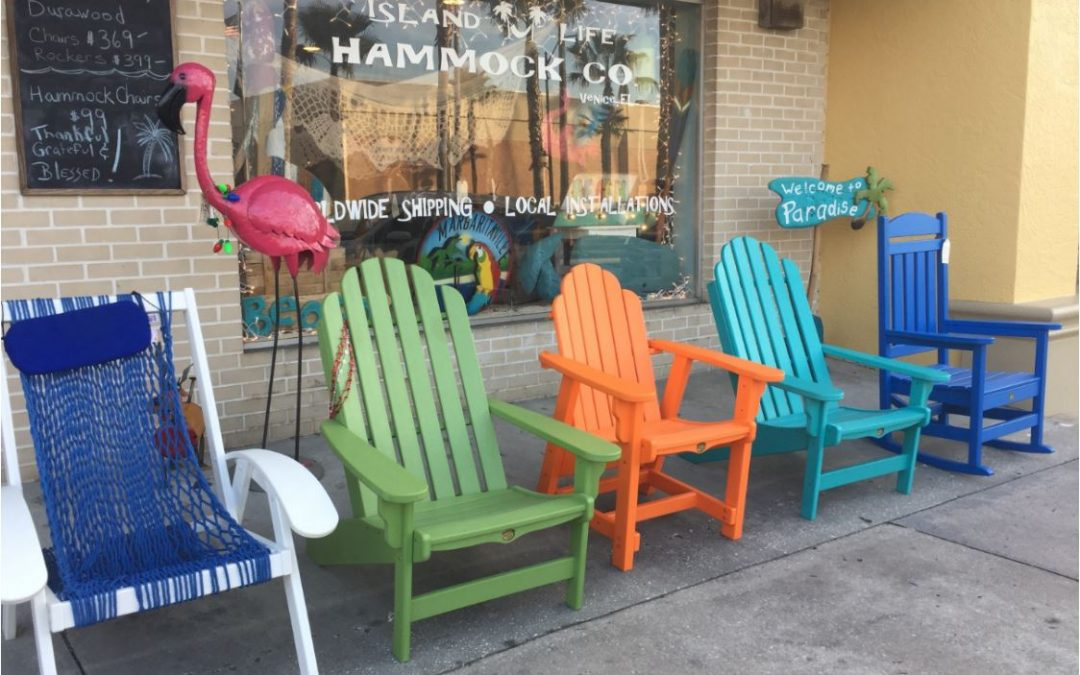 Hammocks, Chairs, and a Beach Load of Fun-itures! by Heidi Reslow