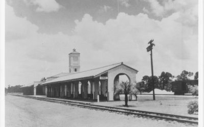 #19. 303 E. Venice Ave.: Venice Train Depot