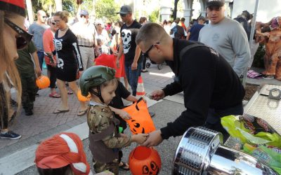Calling Ghosts and Goblins for Venice Halloween Parade