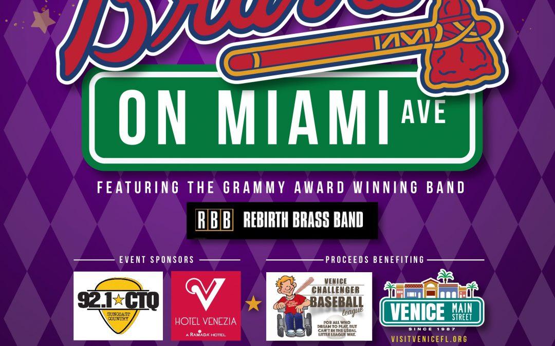 Braves on Miami Ave.: Mardi Gras Style, February 8