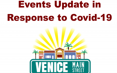 Events in Downtown Venice Canceled through May
