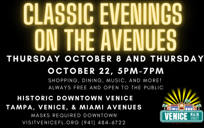 Classic Evenings on the Avenues, October 8 and 22