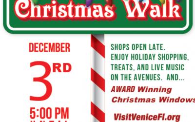 Christmas Walk, December 3, 2020, 5-8pm