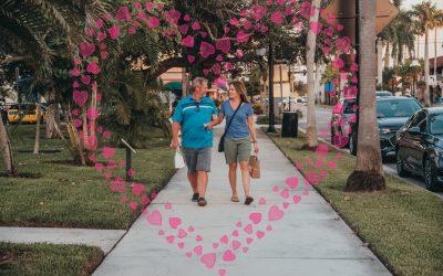 Downtown Sweetheart Stroll, 2/11/21