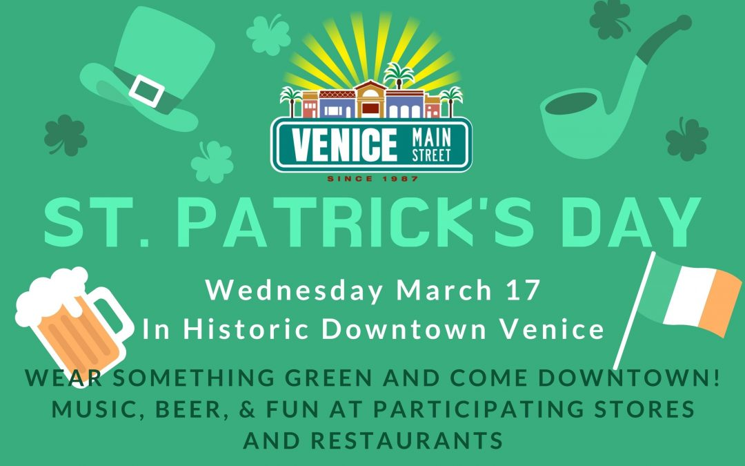 St. Patrick's Day Downtown Venice 2021