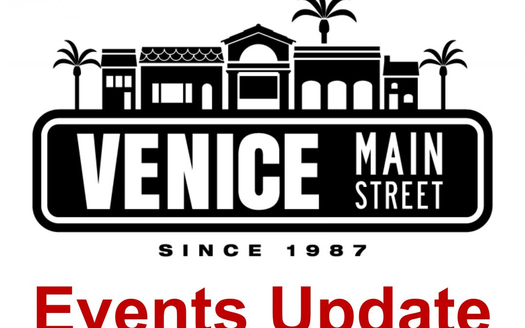 8/27/21 UPDATE to City of Venice Special Events Cancellation Notice