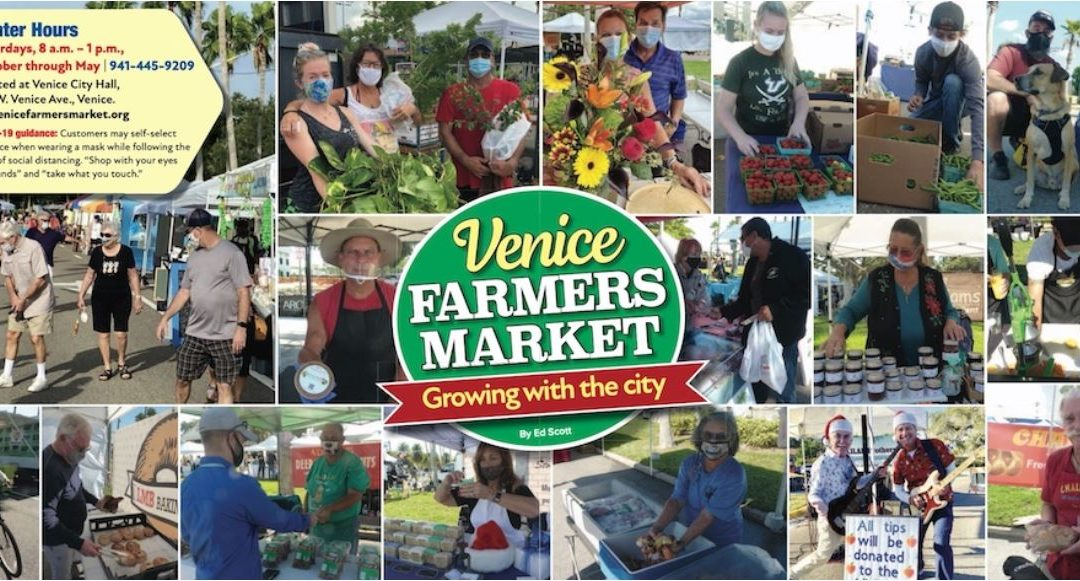 Venice Farmers Market is approved to continue on 9/4/21