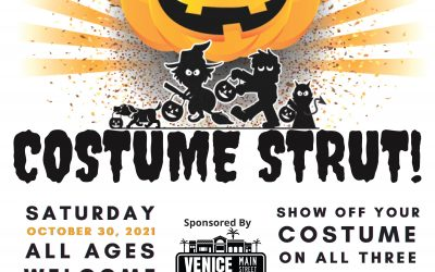 Costume Strut in Downtown Venice on Sat., October 30